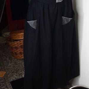 Vintage Steinman Wool Blend Wrap skirt